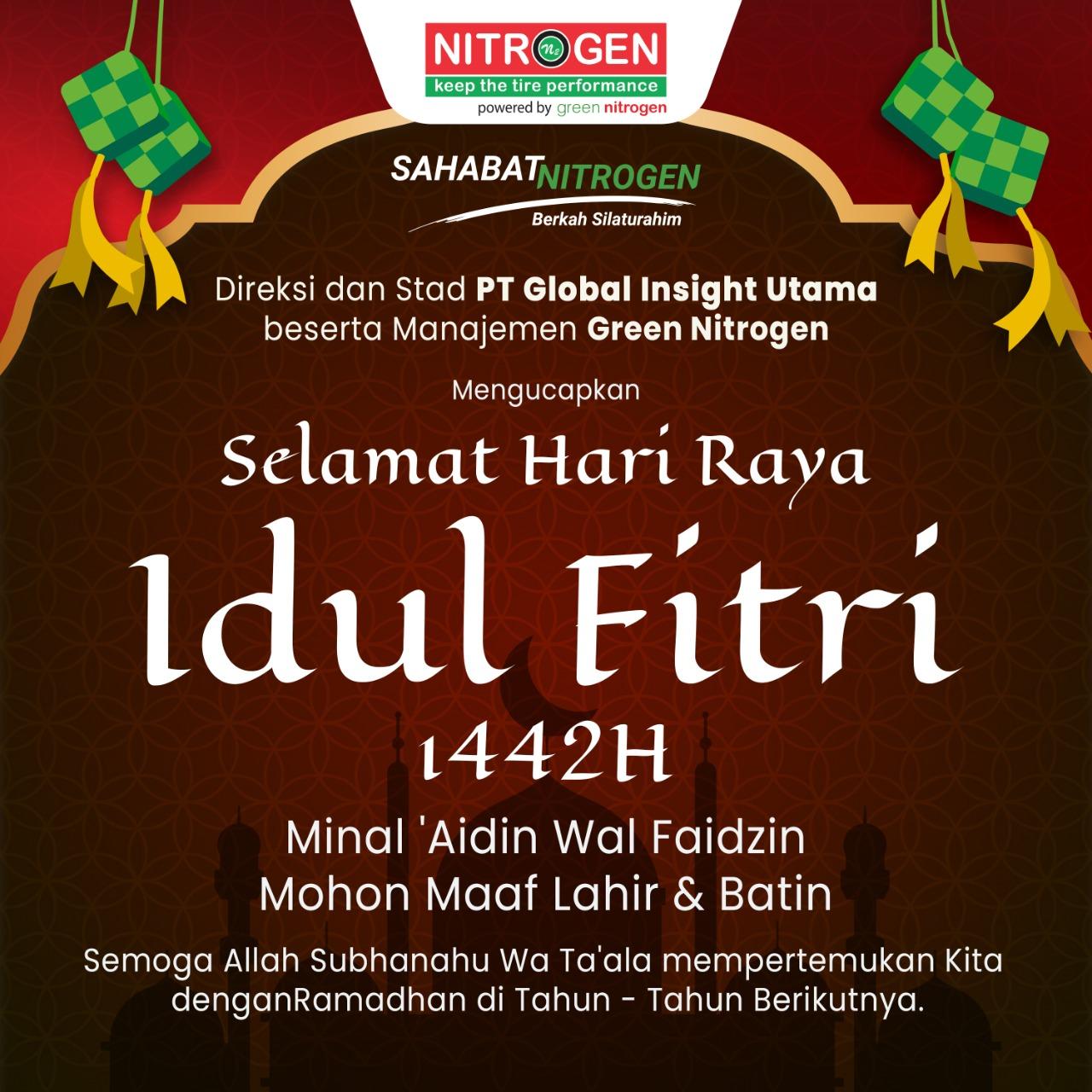 Selamat Hari Raya Idul Fitri 1442 H?>