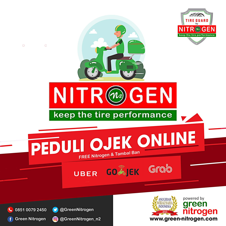 Green Nitrogen Peduli dengan Ojek Online