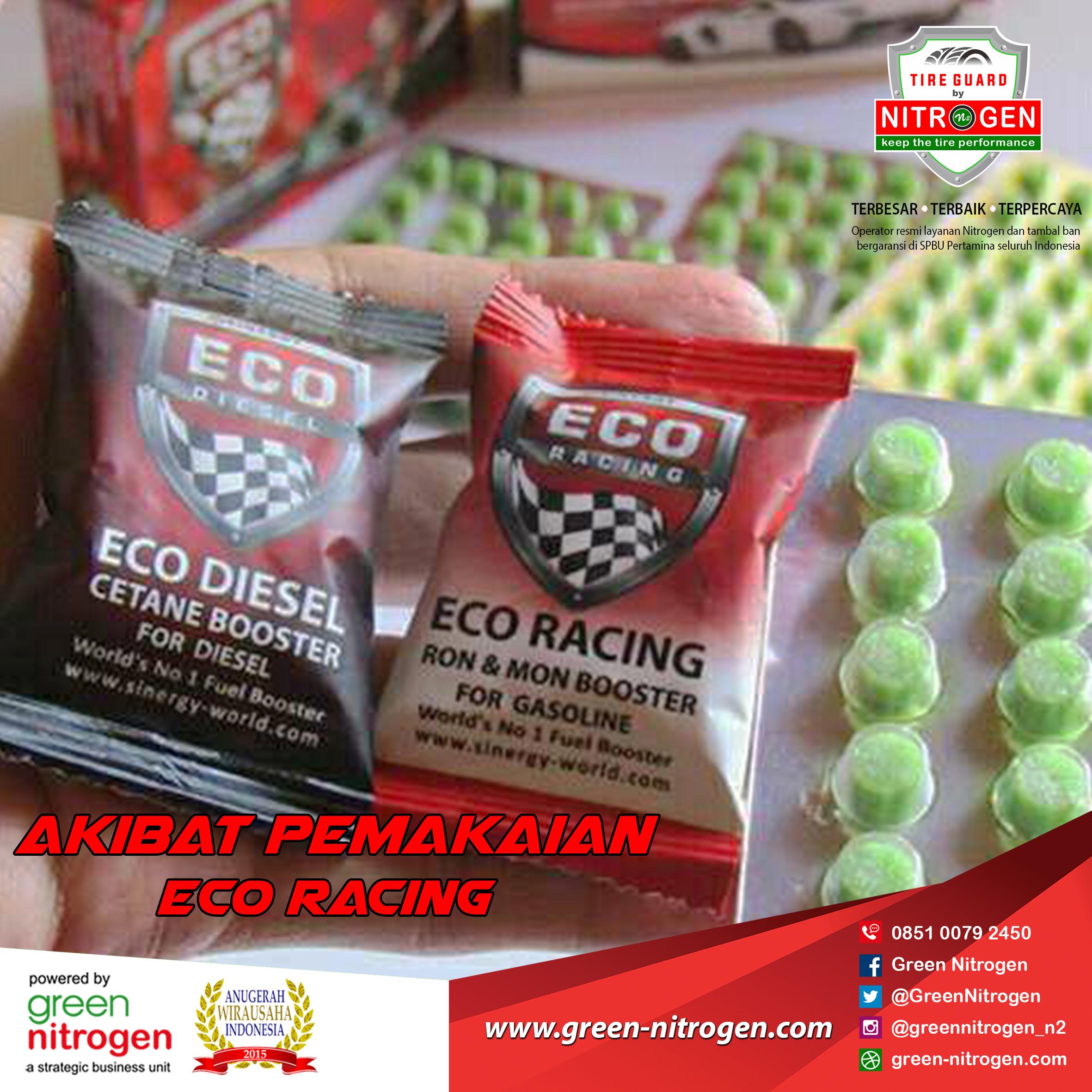 Ini Akibat Pemakaian Eco Racing Pada Kendaraan